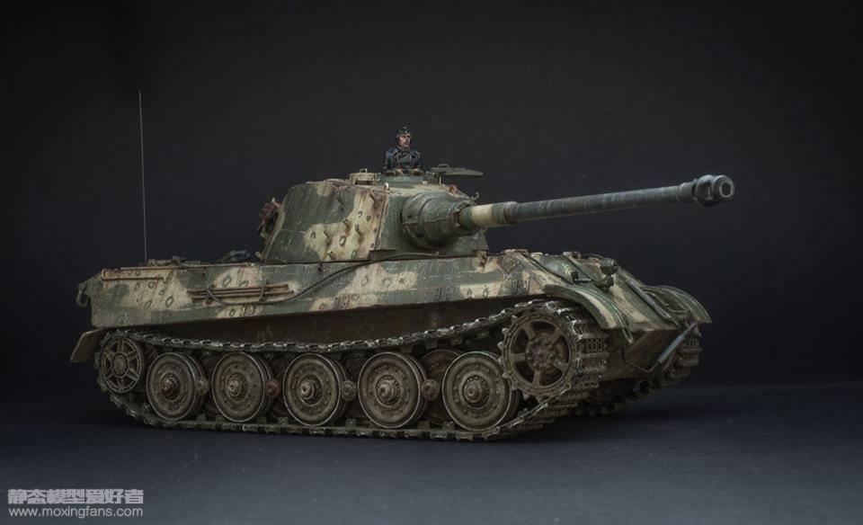 虎王重型坦克 涂装_德国虎王坦克八爪鱼涂装(威龙)_静态模型爱好者--致力于打造 ...