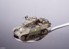 Stuart M3A3 Light Tank--M3A3轻型坦克(1/72)