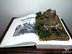 By The Book--1/35 场景作品